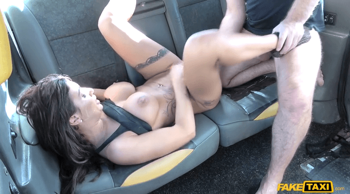 FakeTaxi – Princess Jasmine – Sex mad cock loving hot brunette