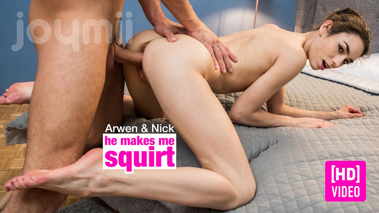 JoyMii – He Makes Me Squirt –  Arwen Gold