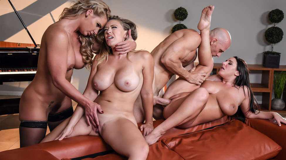 PornstarsLikeItBig : Dinner For Cheats – Angela White, Kagney Linn Karter, Phoenix Marie