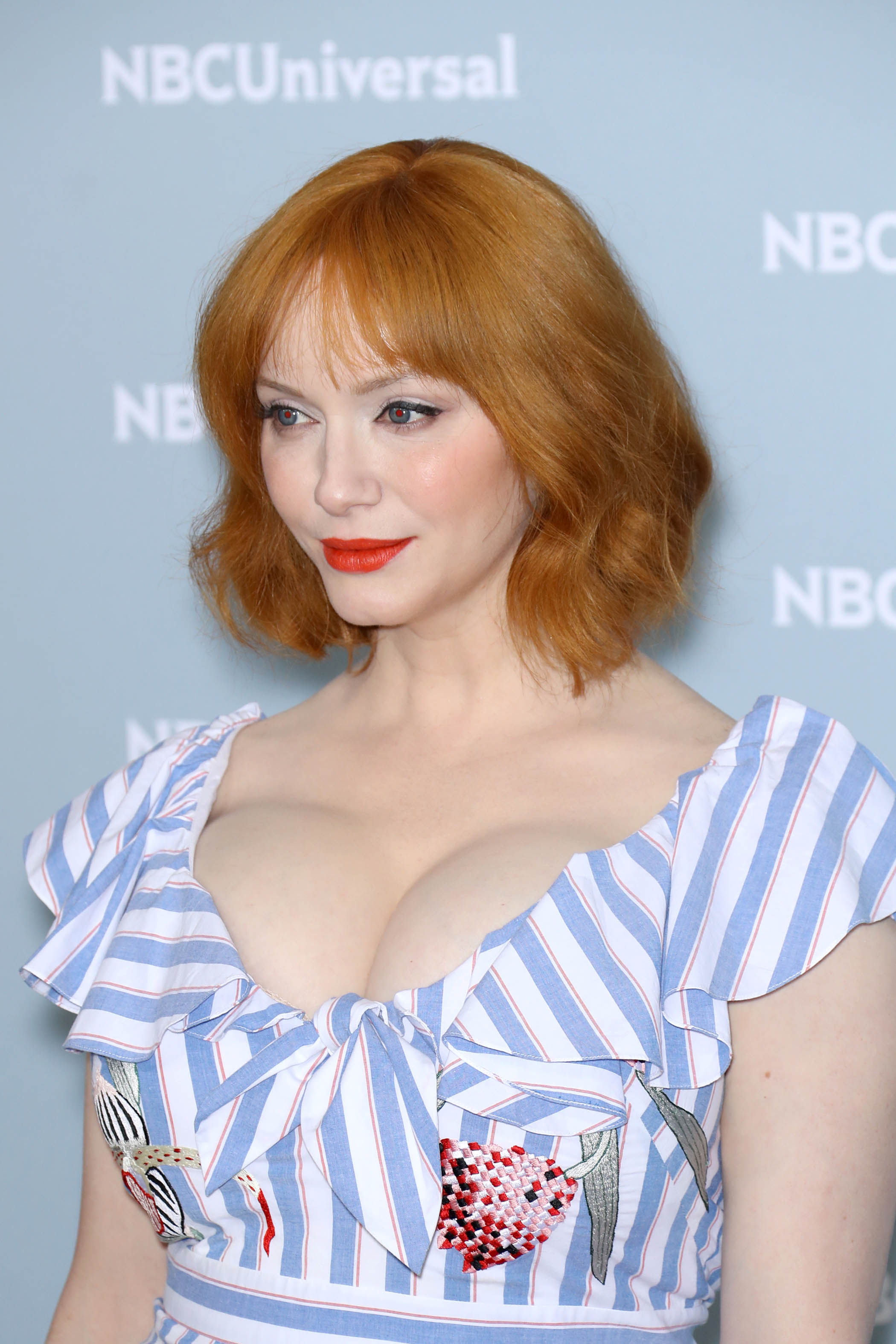Christina Hendricks @ NBCUniversal Upfront Presentation in New York City 14/5/2018