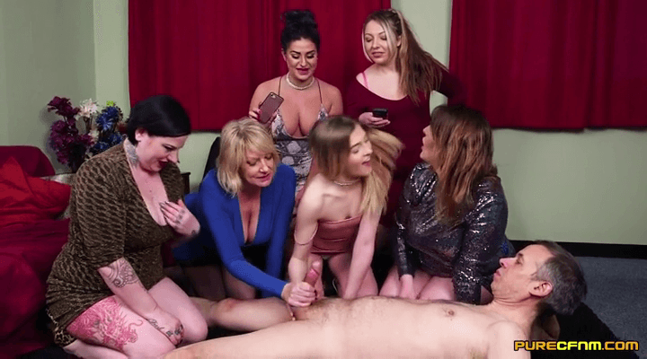 PureCFNM – Amy Goodhead, Crystal Coxxx , Crystal Smith – Vetting His Size