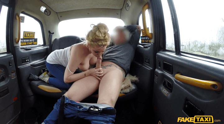 FakeTaxi – Loula Lou – Serial squirting from busty amateur