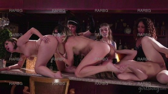 GirlsWay – Jenna Sativa Eliza Jane And Ivy Wolfe A Flapper Girl Story