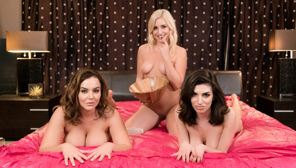 NuruMassage: Sorority Initiation – Natasha Nice, Darcie Dolce , Xandra Sixx