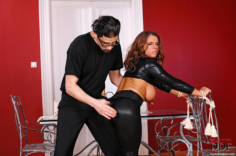 HouseOfTaboo – Sexy Subby Spanked and Roped – Alexis Crystal