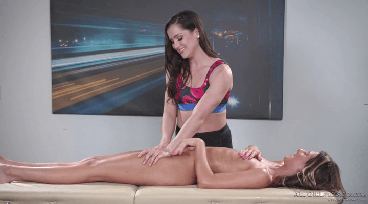 AllGirlMassage – Kasey Warner , Tara Ashley  – Rebound Masseuse